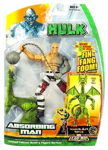 Hasbro Marvel Legends Hulk Series [Build a Fin Fang Foom] Action Figure Absorbing Man