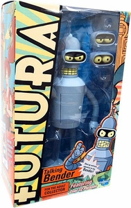 Futurama Action Figure Talking Bender [Over 12 Phrases!]