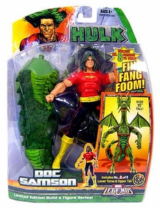 Hasbro Marvel Legends Hulk Series [Build a Fin Fang Foom] Action Figure Doc Samson