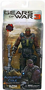 NECA Gears of War 3 Series 2 Action Figure Augustus Cole [One Shot]