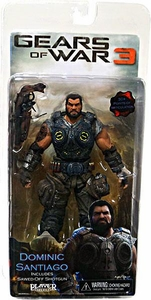 NECA Gears of War 3 Series 2 Action Figure Dominic Santiago [Sawed Off Shotgun]