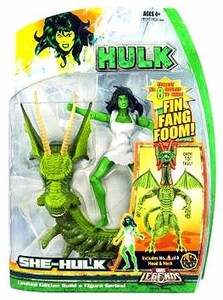 Hasbro Marvel Legends Hulk Series [Build a Fin Fang Foom] Action Figure She-Hulk
