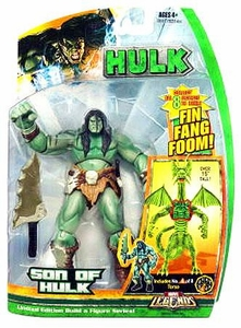 Hasbro Marvel Legends Hulk Series [Build a Fin Fang Foom] Action Figure Son of Hulk