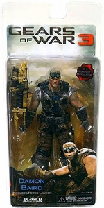 NECA Gears of War 3 Series 2 VARIANT Action Figure Damon Baird [GOLD Lancer, Wrench & Screwdrivers]