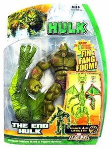 Hasbro Marvel Legends Hulk Series [Build a Fin Fang Foom] Action Figure The End Hulk