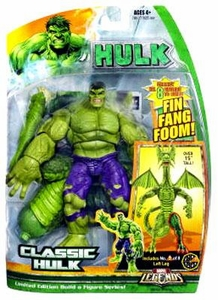 Hasbro Marvel Legends Hulk Series [Build a Fin Fang Foom] Action Figure Classic Hulk