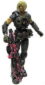 NECA Gears of War 3 Series 1 VARIANT LOOSE Action Figure Anya Stroud [PINK Lancer]
