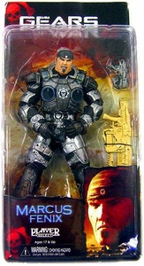 Gears of War NECA Series 3 Action Figure Marcus Fenix {Gold Lancer Variant} [GoW2 Version]