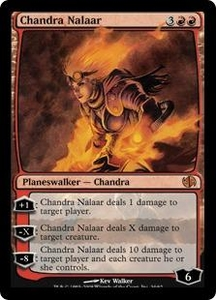Magic the Gathering Duel Decks: Jace vs. Chandra Single Card Mythic Rare #34 Chandra Nalaar