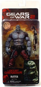 NECA Gears of War Exclusive Action Figure Locust Grenadier