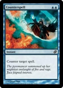 Magic the Gathering Duel Decks: Jace vs. Chandra Single Card Common #24 Counterspell