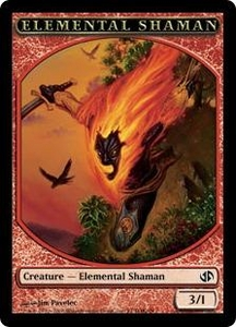 Magic the Gathering Duel Decks: Jace vs. Chandra Single Card Common #1 Elemental Shaman