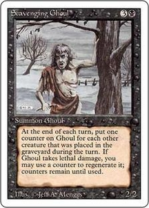 Magic the Gathering Revised Edition Single Card Uncommon Scavenging Ghoul
