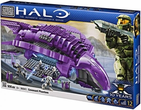 Halo Wars Mega Bloks Set #96941 Covenant Phantom