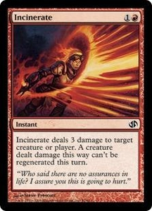 Magic the Gathering Duel Decks: Jace vs. Chandra Single Card Common #51 Incinerate