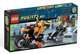 LEGO Agents 2.0 Set #8967 Gold Tooth's Getaway
