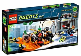 LEGO Agents 2.0 Set #8968 River Heist