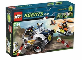 LEGO Agents 2.0 Set #8969 4-Wheeling Pursuit