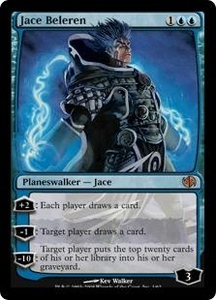 Magic the Gathering Duel Decks: Jace vs. Chandra Single Card Mythic Rare #1 Jace Beleren