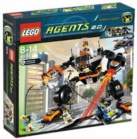 LEGO Agents 2.0 Set #8970 Robo Attack