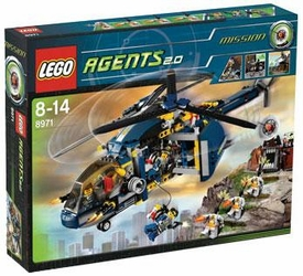 LEGO Agents 2.0 Set #8971 Aerial Defense