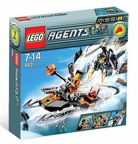 LEGO Agents Set #8631 Mission 1: Jet Pack Pursuit