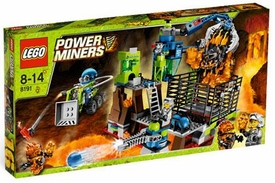 LEGO Power Miners Set #8191 Lavatraz