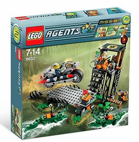 LEGO Agents Set #8632 Mission 2: Swamp Raid