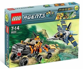 LEGO Agents Set #8630 Mission 3: Gold Hunt