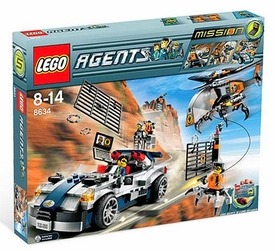 LEGO Agents Set #8634 Mission 5: Turbo Car Chase