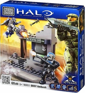Halo Wars Mega Bloks Set #96931 ODST Ambush
