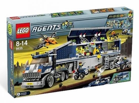 LEGO Agents Set #8635 Mission 6: Mobile Command Center