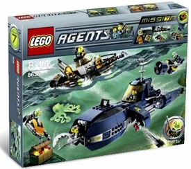 LEGO Agents Exclusive Set #8636 Mission 7: Deep Sea Quest