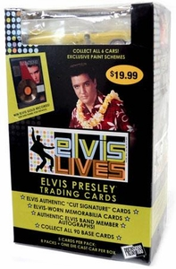 Elvis Lives Trading Cards 2006 Value Blaster Box