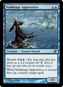 Magic the Gathering Duel Decks: Jace vs. Chandra Single Card Common #4 Voidmage Apprentice