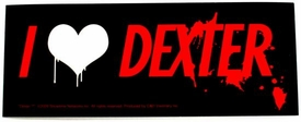 Dexter Rub On Sticker
