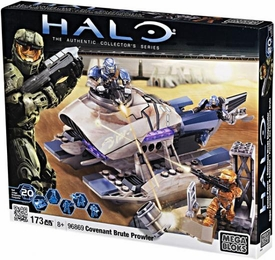 Halo Wars Mega Bloks Set #96869 Covenant Brute Prowler