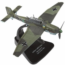 Forces of Valor 1:72 Scale Enthusiast Series Planes German Junkers Ju87B Stuka