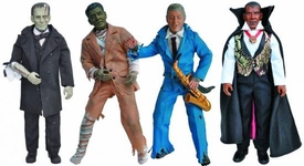 Presidential Monsters Heroes in Action Figure Set of all 4 Series 1 Figures  [Obama, Lincoln, Reagan & Clinton]
