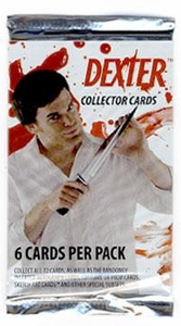 Dexter Collector Trading Cards Pack