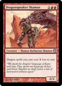 Magic: The Gathering Duel Decks: Knights vs. Dragons Single Card Red Uncommon #53 Dragonspeaker Shaman