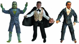 Presidential Monsters Heroes in Action Figure Set of all 3 Series 2 Figures  [JFK, Nixon & W. Bush]
