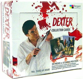 Dexter Collector Trading Cards Box [24 Packs]