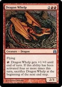 Magic: The Gathering Duel Decks: Knights vs. Dragons Single Card Red Uncommon #54 Dragon Whelp
