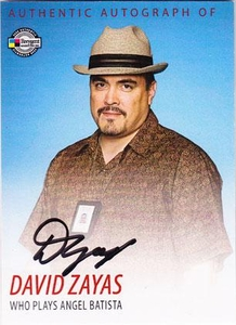 Dexter Trading Cards Authentic Autograph Card #DA5 David Zayas [Angel Batista]