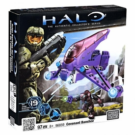 Halo Wars Mega Bloks Set #96859 Covenant Banshee