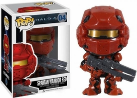 Funko POP! Halo 4 Vinyl Figure Spartan Warrior Red