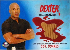Dexter Trading Cards Costume Card #DC10 Sgt. Doakes