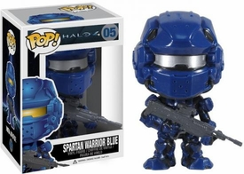 Funko POP! Halo 4 Vinyl Figure Spartan Warrior Blue