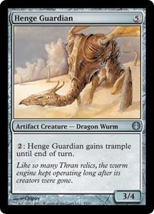 Magic: The Gathering Duel Decks: Knights vs. Dragons Single Card  Uncommon #55 Henge Guardian